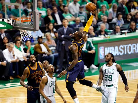 best team ever lakers vs bulls vs celtics vs lakers nba playoffs 2017 watch the moment lebron james passed