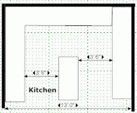 standard size kitchen island kitchen island designs kitchen floor plans and layouts
