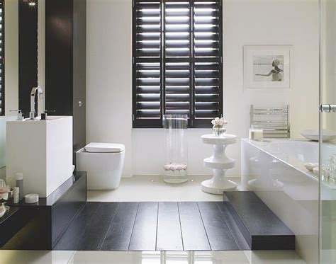 shutters in bathroom black plantation shutters living room pinterest