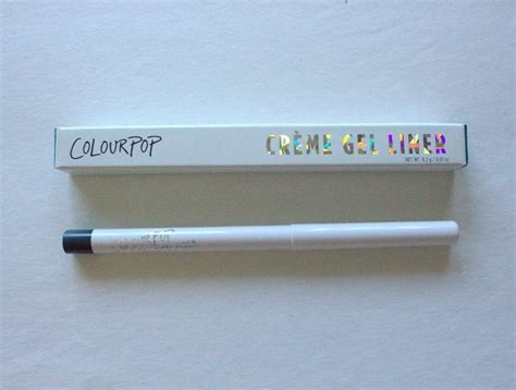 Colourpop Creme Gel Liner 1 colourpop fast liner creme gel pencil review