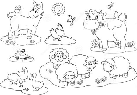 cute baby farm animals coloring page coloring pages 25 farm animals coloring pages to print farmyard animals