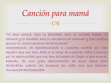 Canci De Mama | para ti mamita ppt video online descargar