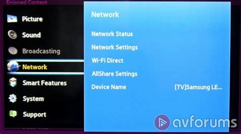 Samsung E Manual Samsung Ue40f6500 F6500 Tv Review Avforums