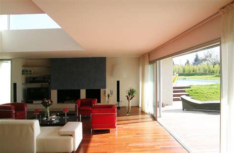 canapé en forme de u maisons contemporaines plain pied 7