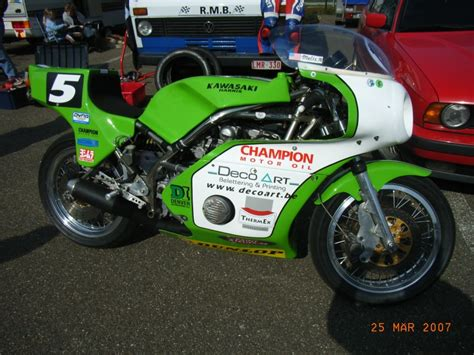 Classic Trophy Motorrad by Moto Classic Trophy 2007 Harris Kawasaki Endurance Racer