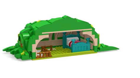 lego cottage equestria daily mlp stuff fluttershy s cottage lego