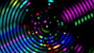 lights website 4k disco hypnotic light centerd vj loop disco effect