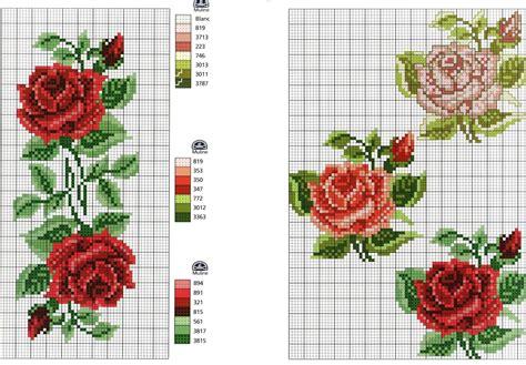 disegni di fiori da ricamare ricami e schemi a punto croce gratuiti fiori fiori da