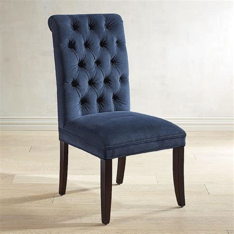 navy blue tufted chair navy tufted chair chairs seating