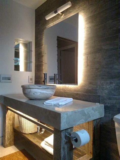 rustikale badezimmerbeleuchtung die led lichtleiste 30 ideen wie sie durch led leisten