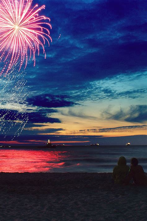 wallpapers for iphone 5 summer freeios7 summer fireworks parallax hd iphone ipad