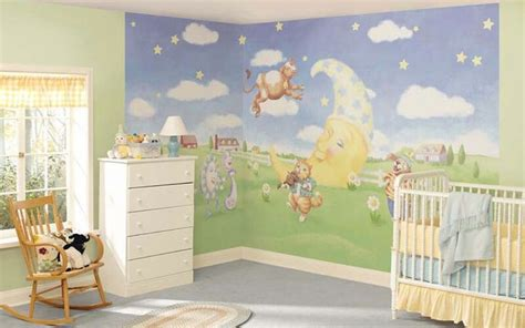 baby room wall murals nursery rhyme themed baby room nursery ideas nursery rhymes baby rooms and