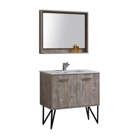 36 modern bathroom vanity bosco 36 quot modern bathroom vanity and matching mirror