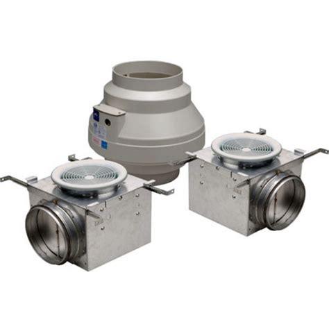 fantech premium bath fans with lights 270 and 370 cfm dual grille premium bathroom exhaust fans