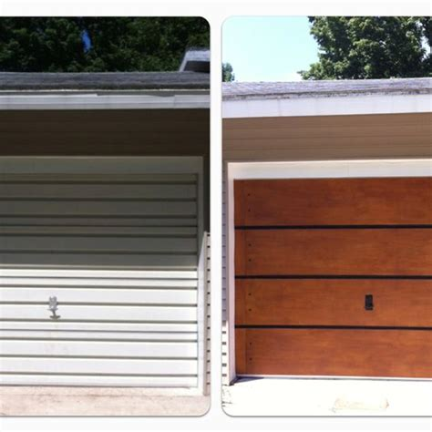 Garage Door Makeover Garage Door Makeover 100 We Only Spent 75