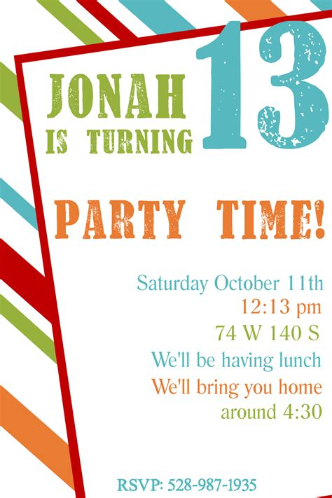 customize 4 000 party invitation templates online canva