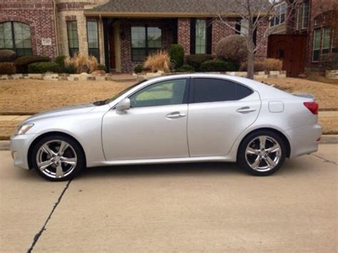 2007 lexus is 250 with x package and manual trans lexus is250 2007 sport package 18 quot chrome is 250