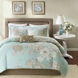 Teal and brown floral bedding set teal and brown bedroom decorating