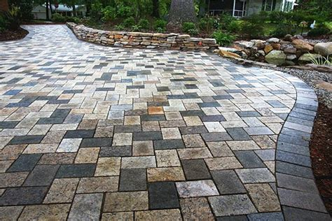 Recycled Patio Pavers Recycled Granite Patio In A Mixed Blend Recycled Granite Paver Patios Patio