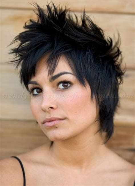 pixie mullet faux hawk short hairstyles pinterest hairstyles top