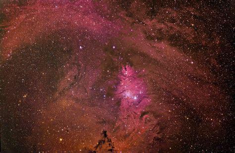 cone nebula christmas tree cluster astronomy magazine
