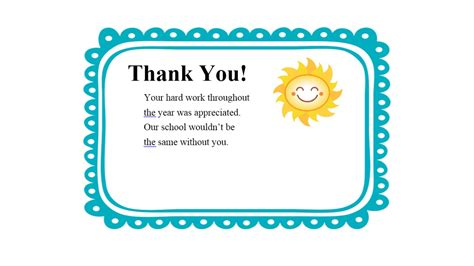 Thank You Letter To From Student Thank You Messages Quotes Quotesgram