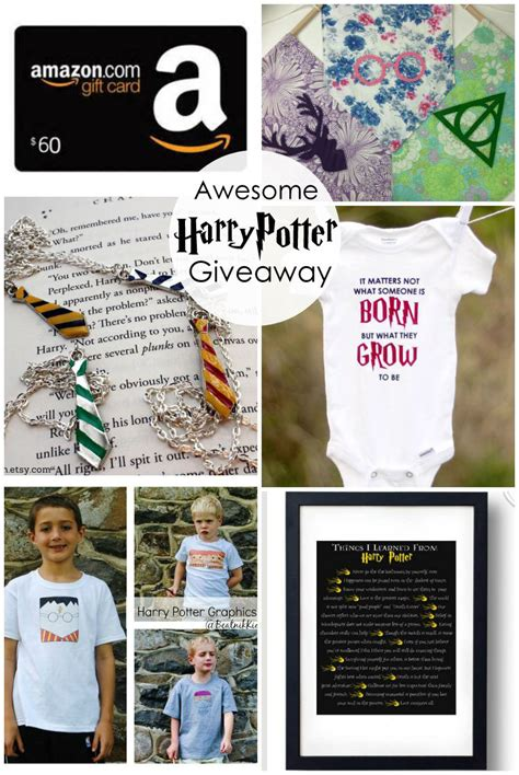 Harry Potter Giveaway - harry potter giveaway housewife eclectic