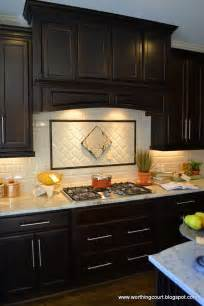 Kitchen Backsplash Ideas For Dark Cabinets by Kitchen Contemporary Kitchen Backsplash Ideas With Dark