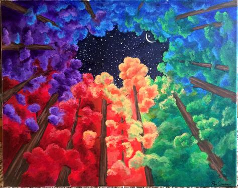 colorful painting peri duncan
