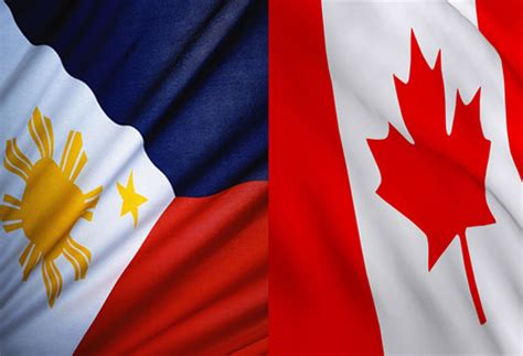 Philippines Canada Set Exchange Of Trade Invest Missions Philippines Canada Flag