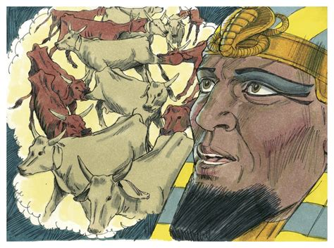 file book of genesis chapter 41 5 bible illustrations by
