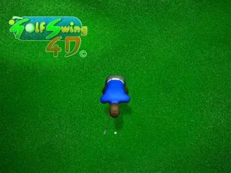 golf swing top view golf swing top view animation in slow motion youtube