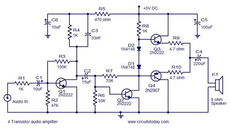 transistor headphone lifier schematic few transistor lifier circuits circuit diagram world