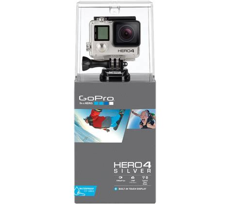 Jual Gopro Hero4 Silver Edition buy gopro hero4 camcorder silver edition free delivery currys