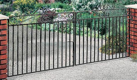 metal driveway gates wrought iron drive gates metal