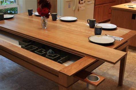 emissary gaming  dining table    handmade
