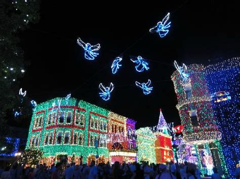 christmas lights picture of disney s hollywood studios
