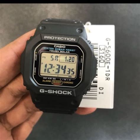 G Shock G5600 Not Dw5600 Dw6900 brand new g5600 casio gshock tough solar black not