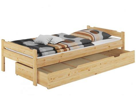 Bett Matratze 80x200 by Bett 80x200 Einzelbett Jugenbett Kiefer Natur Rollrost