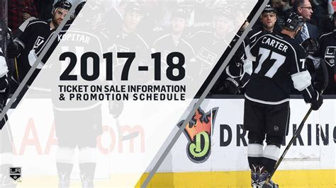 La Kings Giveaway Schedule - la kings announce 2017 18 ticket on sale info and promo schedule nhl com