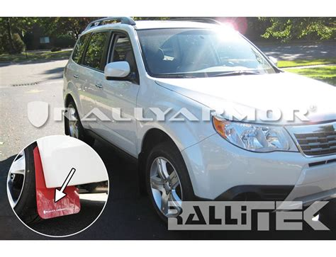 rally subaru forester rally armor ur mud flaps forester 2009 2013 rallitek com