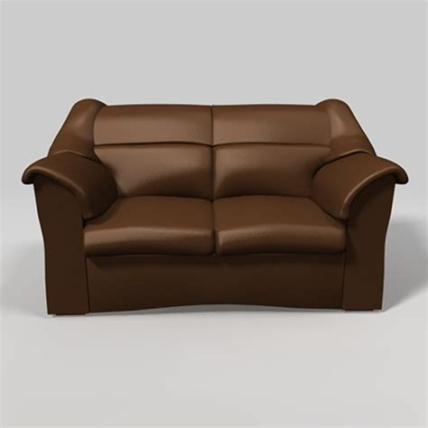 Unique Leather Sofa Unique Leather Sofa Brown 3ds
