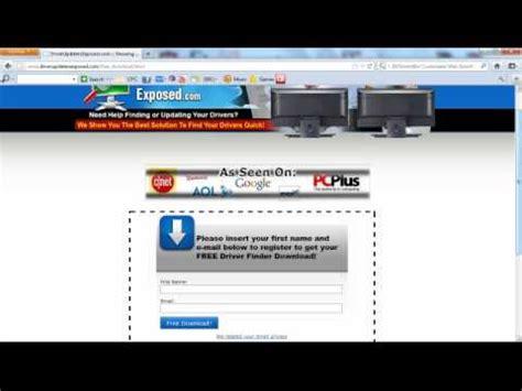 Finders Scam Another Driver Finder Program Funnydog Tv