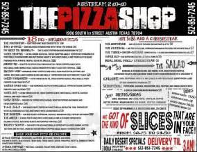 The Pizza Shop The Pizza Shop Atx Austinfoodcarts