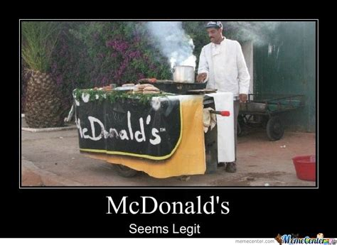 Seems Legit Meme - mcdonald s seems legit by ismailovich meme center