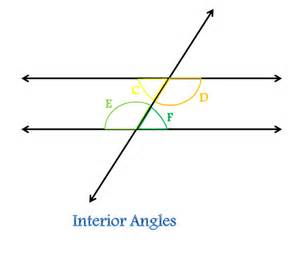 transversal in geometry definition angles
