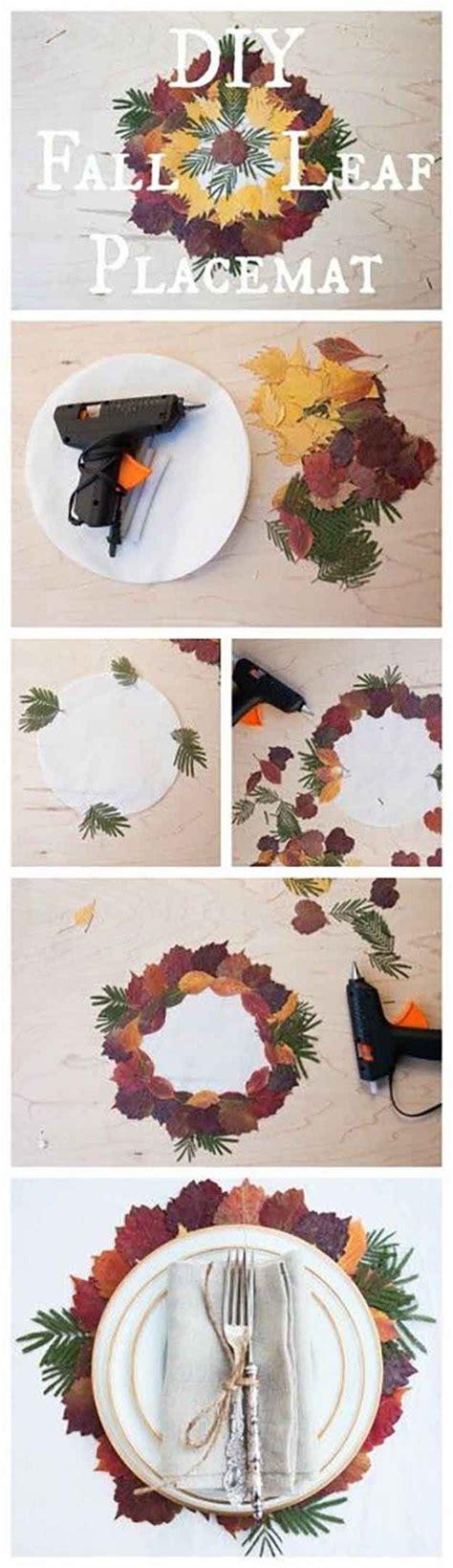thanksgiving decorations 14 diy placemat ideas