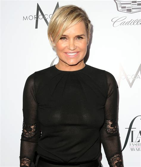 what did yolanda foster look like when she first started modeling yolandafoster toofab com