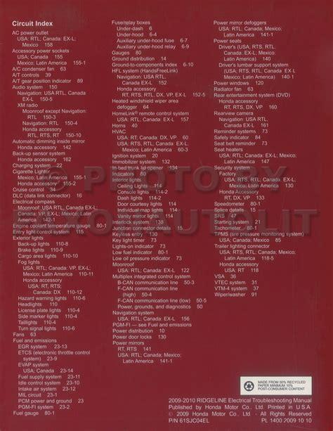 download car manuals pdf free 2009 honda ridgeline free book repair manuals service manual pdf 2009 honda ridgeline electrical troubleshooting manual ridgeline 2007