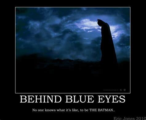 behind blue eyes behind blue eyes